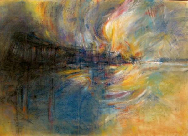 Burning Pier
