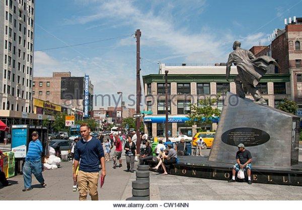 adam-clayton-powell-monument-dr-martin-luther-king-jr-boulevard-harlem-cw14nn